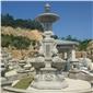 山門牌坊涼亭噴泉石雕,石雕涼亭, 石雕噴泉