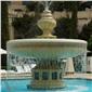 凉亭喷泉山门牌坊石雕,石雕喷泉,喷泉