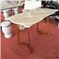 定制圓桌方桌長桌,賀州大理石桌、石凳