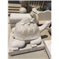 白麻石雕乌龟