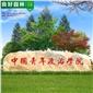 大发棋牌9米长大型晚霞红景观石