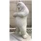 黃金麻動物雕像熊大