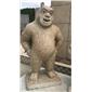 黃金麻動物雕像熊二