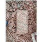天然蘑菇石 天然文化石、红色文化石、红色板岩批发、红色碎拼石,