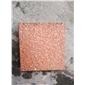 帝王红喷沙面石材光泽红石材江西红石材