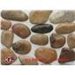 天然鵝卵石切片亂形(加防水)
