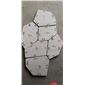 白锈石五角石