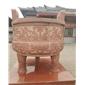 中國紅四川紅石雕,中國紅又叫三合紅
