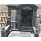 芝麻黑花岗岩墓碑,路沿石、墓碑石,盲人石,地铺石、g603芝麻白、新矿g654