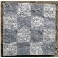 芝麻黑拼花 芝麻灰拼花、长泰石材、长泰芝麻灰、长泰芝麻黑、长泰芝麻白、新矿g654、墓碑石