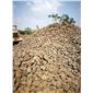火山岩自然石堆场
