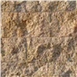 黃銹石蘑菇石