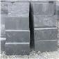 天然青石板黑色300*600文化石板岩 庭院别墅广场防滑铺路石材地砖