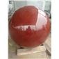 中国红圆球