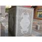 大理石雕刻、柱子雕刻、方柱雕刻、花岗岩雕刻