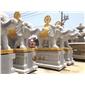 寺院石雕六牙象