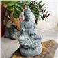 花崗巖觀音雕刻 青石佛像擺件寺院萬佛石雕