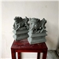 花崗巖麒麟石雕招財瑞獸青石雕刻擺件