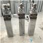 古代拴马桩 青石拴马桩 石雕狮子立柱石柱雕刻摆件