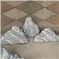 供应自然石泰山石切片 园林景观假山石造景石条纹石