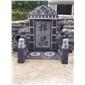 墓碑、欧美墓碑、654芝麻黑、654园林