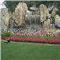 四川假山景观工程 怎样用水泥制作假山 gcr塑石仿真假山公司