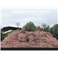 中国红雕塑