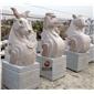 十二生肖石雕雕塑