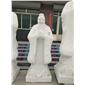 汉白玉石雕孔子雕塑