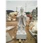 漢白玉孔子石雕
