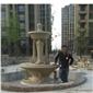 欧式小喷泉 黄金麻