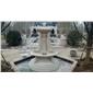 豪华别墅喷泉