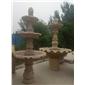 三层连花盆喷泉
