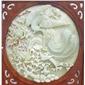 CA-011天然玉石浮雕(别墅背景墙)
