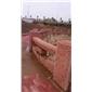 福建红G683光面工程案例映山红石材厂家