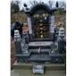 芝麻黑654墓碑欧美墓碑