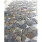 青石板厂家网贴价格网贴成品黑色板岩