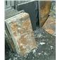 锈石板岩蘑菇石条纹石厂家