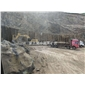 蒙古黑中國黑礦區