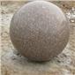 五莲石材圆球 挡车球、五莲花光面、五莲花火烧面、五莲花荔枝面、五莲花喷砂面