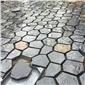 冰裂紋多邊形地鋪石材