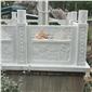 浮雕壁画石材栏杆