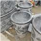 石桌子石缸花盆
