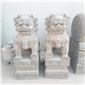 动物雕塑门前石狮价格