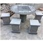 公园石桌石凳