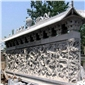 九龙壁外墙雕刻