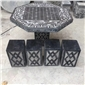 石桌石凳象棋桌