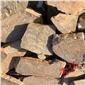 乱形砂岩石片墙 天然乱形石