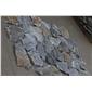 易县灰蓝石灰石乱型 板岩文化石