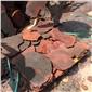 火山岩石板  红色火山石 火山岩板